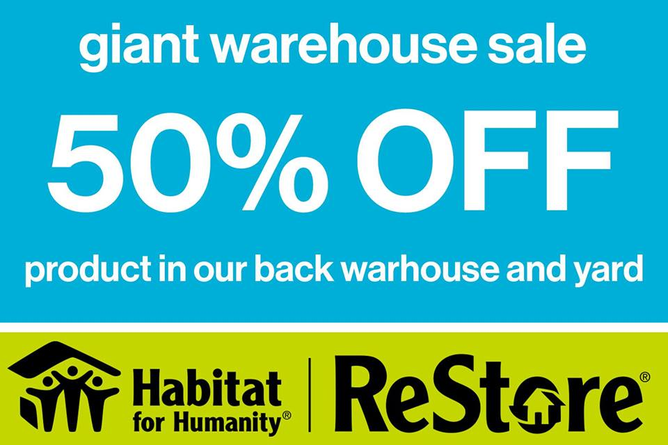 fac6428b6 Spring Warehouse Clearance Sale - Habitat For Humanity Camrose